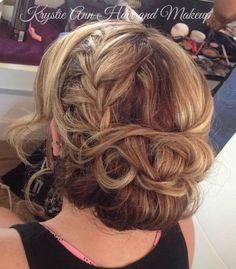 Hair: www.krystieann.com  Bridal hair, wedding hair, updo, wedding hair styles, braid, blonde updo, punta cana wedding, destination wedding hair, huracan cafe, huracan punta cana, huracan weddings