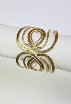 #summermusthaves on golden brown sun kissed skin  #privategallery Gold Hinged Cuff