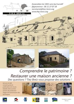 Tiez Breiz - Maisons et Paysages de Bretagne Eco Architecture, Questions, Celtic, Floor Plans, Diagram, House, Ideas, Traditional, Architecture