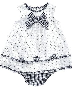 Little Me Baby Dress Baby Girls Knit Dress with Bloomers Kids Baby Girl months) Macys - Baby Girl Dress - Ideas of Baby Girl Dress New Baby Dress, Little Girl Dresses, Baby Dresses, Dress Girl, Kids Frocks, Frocks For Girls, Girls Knitted Dress, Knit Dress, Ruffle Dress