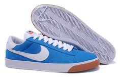 big sale 2f0f2 e7395 La tienda No es Caro Nike Blazer Low Suede Vintage para Hombre azul blanco  white oNBtI8