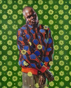 Kehinde Wiley's Bold Paintings Reconfigure The Way African American Culture Is Portrayed
