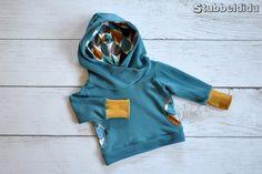 #Lou nach dem Schnitt von #Kibadoo genäht von #Stubbeldidu  #nähenfürkinderisttoll #nähenfetzt #little #boy #outfit #cool #hoodie #kids