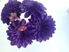 Paper flowers by Sapritas Designs.