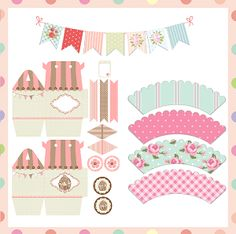 Free Party Printables                                                                                                                                                                                 Más