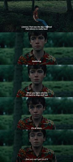 """Trust me. The show has sequences and moments that will leave you thinking for days. """"The End Of The F***ing World"""" Is Officially Coming Back For A Second Season Netflix Quotes, Netflix Movies, Movie Tv, Alex Movie, Movie Scene, Tv Show Quotes, Film Quotes, Quotes From Movies, Quotes Quotes"""
