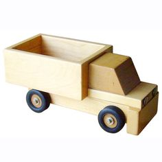 A+ ChildSupply Wooden Dump Truck