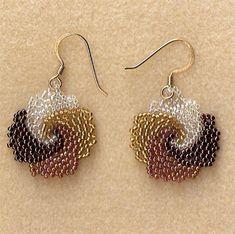 peyote stitch earrings - Google zoeken