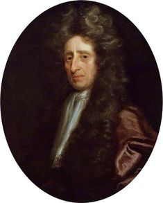 """John Locke ~ ca1696, Michael Dahl I... """"A philosopher of wide influence and friend of the 1st Earl of Shaftesbury, Locke was associated w/ the opposition to both Charles II & James II, and was forced to flee to Holland in 1684. On the accession to the throne of William & Mary, he returned to England and was made Commissioner of Appeals...in 1690 Locke published An Essay Concerning Humane Understanding & Treatises on Govt...an active member of the Royal Society and friend of Newton & Boyle."""""""