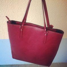 Red Purse bag Stradivarius