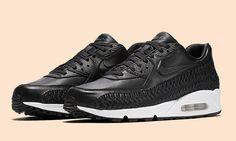"""Nike Air Max 90 Woven """"Black-White"""""""