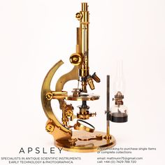A ROSS-WENHAM UNIVERSAL INCLINING & ROTATING BINOCULAR MICROSCOPE, ENGLISH CIRCA 1888. Signed on the base Ross 5415 this is a fine example of Wenham's Universal Inclining & rotating microscope often referred to as the 'Ross Radial'