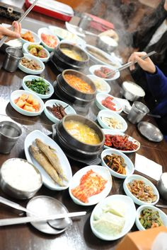 Korean food!