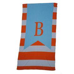 Beach Towel - Style #52051 Large Stripe Print