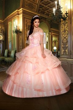 Royale Collection Style #41231 #quinceaneradress #mis quince #quinceañera #vestidosdequince #quinceaneramall Xv Dresses, Best Prom Dresses, Ball Gown Dresses, Pageant Dresses, Quinceanera Dresses, Wedding Dresses, Quinceanera Ideas, Long Dresses, Beautiful Evening Gowns
