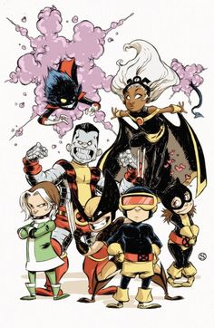 The Marvel Comics of the 1980s — Uncanny X-Men by Skottie Young