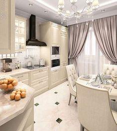 Why You Should Consider Renovating Your Kitchen – Home Dcorz Apartment Kitchen, Home Decor Kitchen, Kitchen Furniture, Kitchen Ideas, Fancy Kitchens, Luxury Kitchens, Interior Design Trends, Interior Design Kitchen, Küchen Design
