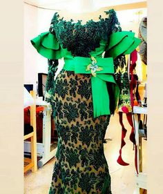 african dress styles Special Aso-Ebi Styles: 25 Styles that Are Making Heads Roll in 2020 African Dresses For Kids, African Maxi Dresses, Latest African Fashion Dresses, African Print Fashion, African Attire, African Clothes, African Wear, Lace Gown Styles, Aso Ebi Lace Styles