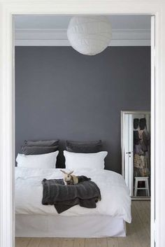 Thinking of doing bedroom in gray and ditching a the taupe and brown tones I currently have.