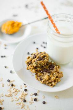 One-Bowl Pumpkin Chocolate Chip Breakfast Cookies