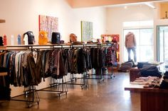 Convert: One of the few places with both his and hers eco-friendly fashion  from labels such as Obey, G-Star, Prairie Underground and Nau; and a  few doors away, an exclusive line of trendy non-leather Jeffrey Campbell  shoes. Down to the repurposed cardboard shelving and flea market  sourced decor, these sister stores pack a PC punch.  1809-B Fourth St., Berkeley. (510) 649-9759; Convert Shoes, 1844 Fourth St., Berkeley. (510) 984-0142. www.convertstyle.com. Photo: Convert / SF