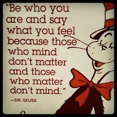 Seuss knows best