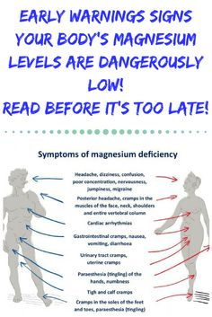 Fatigue remedies for men and women EARLY WARNINGS SIGNS YOUR BODY'S MAGNESIUM LEVELS ARE DANGEROUSLY LOW! READ BEFORE IT'S TOO LATE!