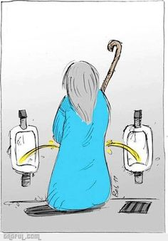 How Moses pees