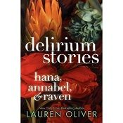 This title by Lauren Oliver's was originally published as digital novellas, Hana, Annabel, and Raven the three main characters in the Delirium series. A popular dystopian series for teens by a artful writer.