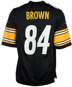 Nike Antonio Brown Pittsburgh Steelers Game Jersey 866e8e121