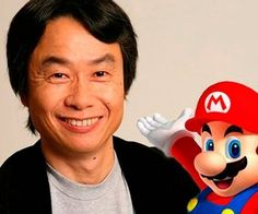 Shigeru Miyamoto! One of the creative minds behind the Mario franchise, one of the best selling franchies of all time. Mario speaks for it's self in popularity and is an iconic game. The Shigeru Miyamoto is a huge designer in not just the Mario games but in other Nintendo games too such as The legend of Zelda: Ocarina of time, considered my many as the best game ever.