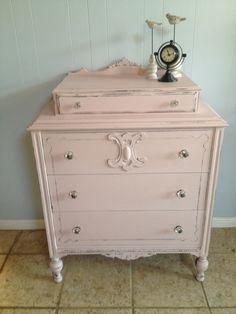 Annie Sloan Baby Furniture | Antoinette over Graphite dresser Annie Sloan Chalk Paint® by Heirloom ...
