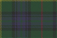 "The ""Hunting Stewart"", a green tartan which has served as the ""universal"" Scottish tartan."