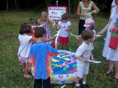 outdoor kid activities and games (strawberry party)