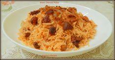 Goan Chorizo Pulao#Improv - Sneha's Recipe Pressure Pan, Sausage Rice, Dirty Rice, Cooking Challenge, Jambalaya Recipe, Small Chicken, How To Cook Sausage, Chorizo, Homemaking
