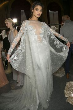 ZUHAIR MURAD COUTURE BACKSTAGE