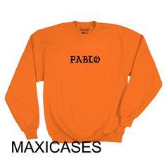 Pablo kanye west Sweatshirt Sweater Unisex Adults size S to 2XL