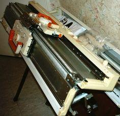 PASSION : TRICOT MACHINE : Rénovation des barres mousse Tuto