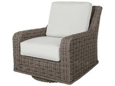Wicker Furniture, Swivel Glider Lounge Chair, Wicker Chair, Outdoor Furniture Set the standard for backyard parties with Laurent's modular configurations. Choose the swivel recliner or create a curved sectional to curl up on – this exceptional line offers a nearly endless variety of seating any layout options. Wicker Lounge Chair, Swivel Glider Chair, Patio Lounge Chairs, Swivel Recliner, Patio Cushions, Wood Arm Chair, Patio Seating, Club Chairs, Outdoor Chairs