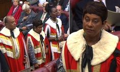 House of Lords welcomes Doreen Lawrence: Stephen's mother receives rousing cheer as she takes seat as a peer