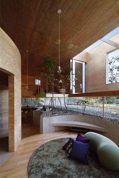 circular house - Okayama Prefecture, Japan