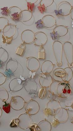 Ear Jewelry, Dainty Jewelry, Cute Jewelry, Jewelry Accessories, Fashion Accessories, Fashion Jewelry, Jewlery, Grunge Jewelry, Nagellack Trends