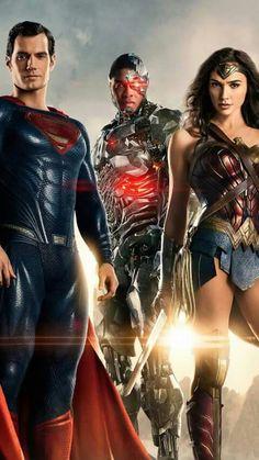 Superman, Cyborg & Wonder Woman #Justice_League