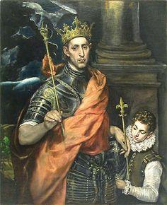 San Luis, rey de Francia.