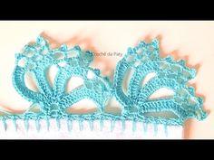 Crochet Doily Patterns, Crochet Doilies, Crochet Necklace, Youtube, Cute Crochet, Crochet Designs, Bullion Embroidery, Crochet Edgings, Couple Beach Pictures