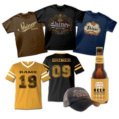 Custom Screen Printing in Austin, TX | Outhouse Designs | Our Work  Shiner Beer.