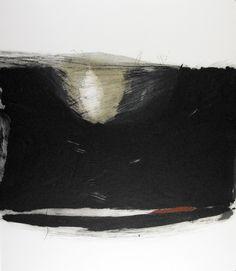 Gabriella Locci Viaggio profundo • Punta seca, aguatinta • TAMAÑO PAPEL/PLANCHA (cms):60x69/Irregular • Monotipo •