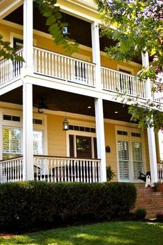Houzz. I need 2 porches.   traditional exterior by New Old Homes, LLC