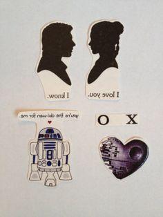 Star Wars Valentine Temporary Tattoos - SmashTat