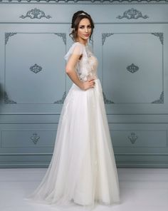 Rochie de mireasă tip A-line, colecția 2019 Unique Dresses, Formal Dresses, Wedding Dresses, Dress Collection, Bespoke, Ready To Wear, Costumes, How To Wear, Fashion